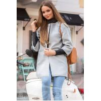 Элегантное пальто-реглан