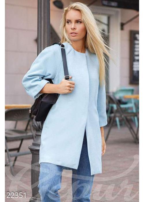Элегантное пальто-реглан 22351 купить по цене 1 030 грн. в Украине — интернет-магазин Modesti