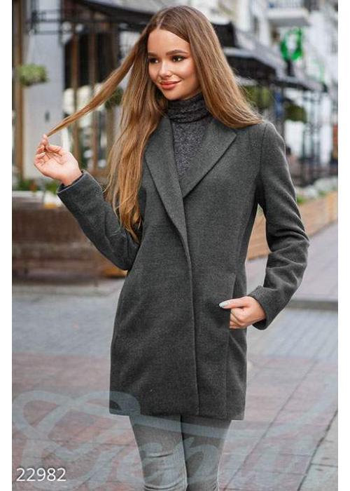 Демисезонное пальто кашемир 22982 купить по цене 1 360 грн. в Украине — интернет-магазин Modesti