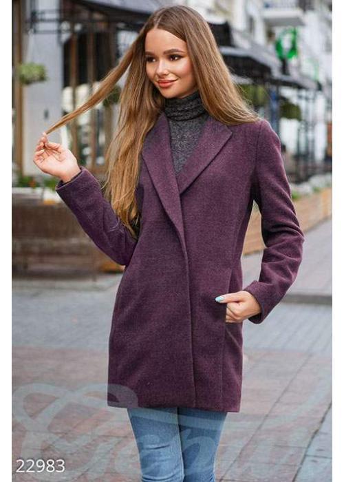 Демисезонное пальто кашемир 22983 купить по цене 1 360 грн. в Украине — интернет-магазин Modesti
