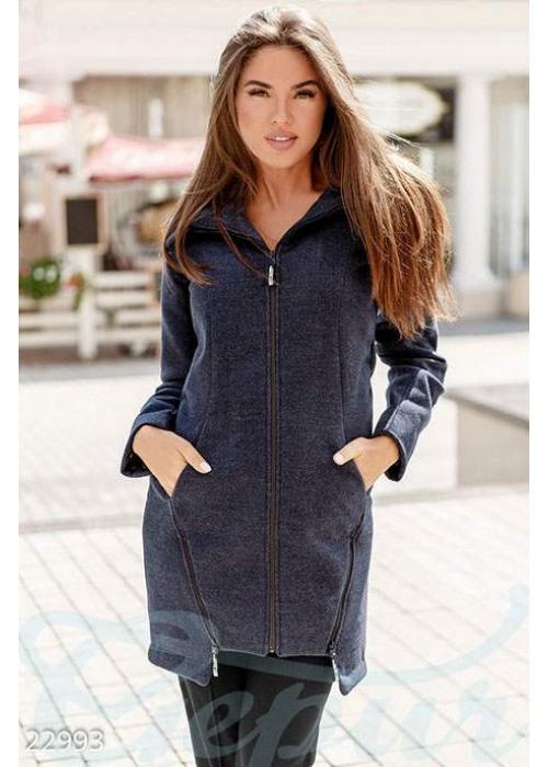 Трендовое демисезонное пальто 22993 купить по низкой цене в Украине — интернет-магазин Modesti