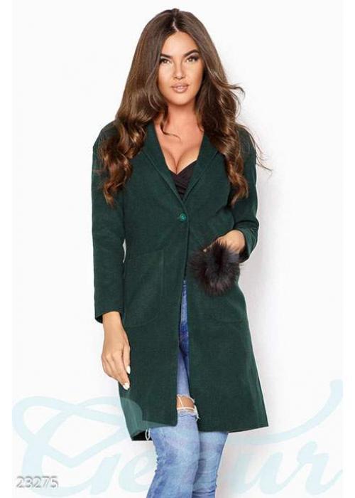 Декорированное кашемировое пальто 23275 купить по цене 1 000 грн. в Украине — интернет-магазин Modesti