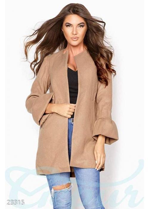 Изысканное кашемировое пальто