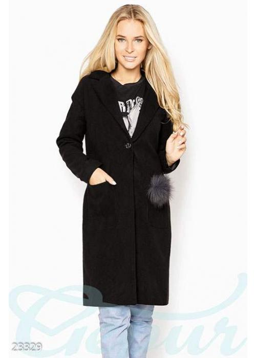 Декорированное кашемировое пальто 23329 купить по цене 1 000 грн. в Украине — интернет-магазин Modesti