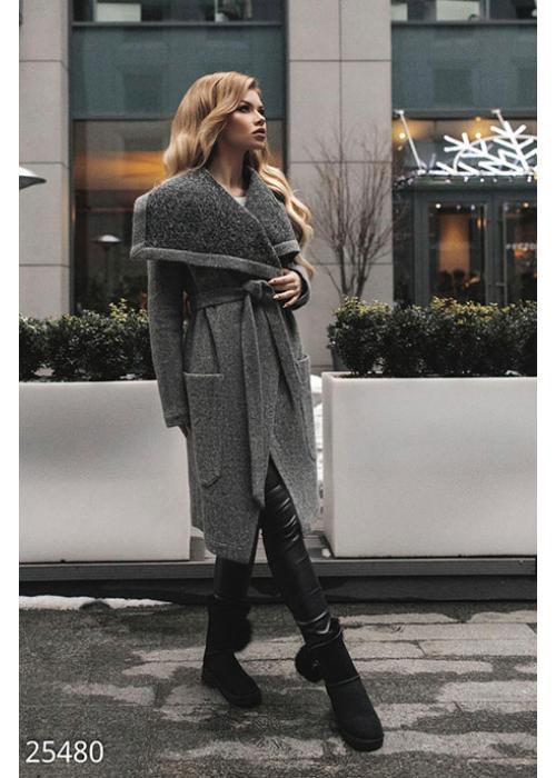 Мягкое женское пальто 25480 купить по цене 1 720 грн. в Украине — интернет-магазин Modesti
